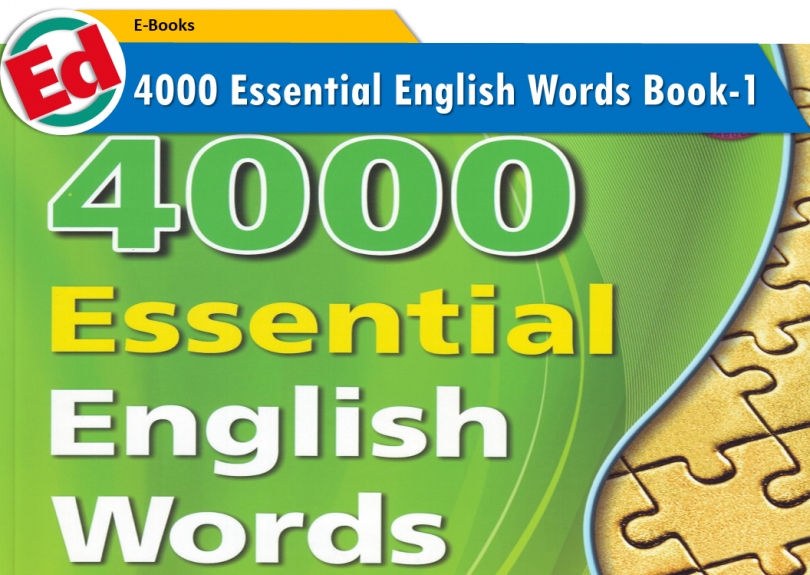 4000 Essential English Words - Book 1 PDF | EDVocab