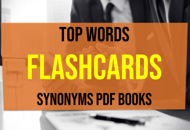 Top Words With Meaning Synonyms and Antonyms Flashcards Synonyms pdf books
