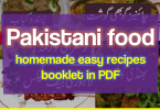 Download Pakistani food homemade easy recipes full booklet in pdf