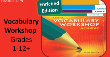 vocabulary workshop