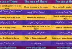 The Use Of There In A Sentence | The Use Of There In English Grammar