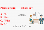 Use of Prepositions in Sentences