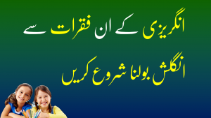 Daily Use English Sentences in Urdu Translation