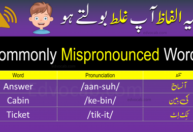 20 Commonly Mispronounced Words