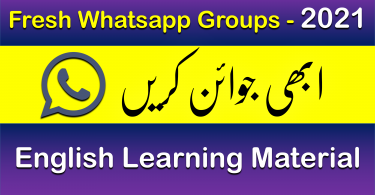 English Learning Whatsapp Groups