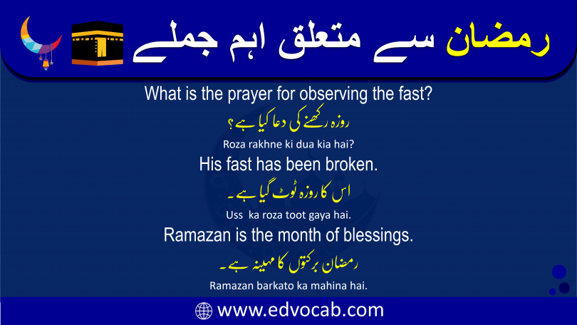 Click to Download Ramadan Sentences in Urdu PDF Booklet Now